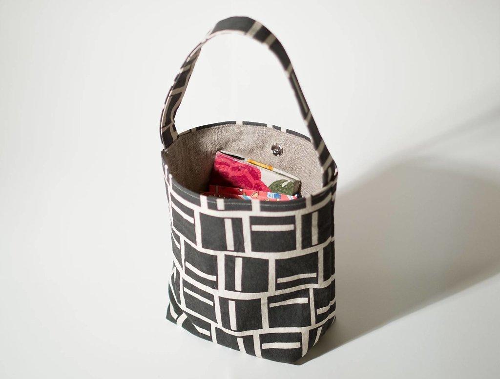 Rutor Väska - Grå